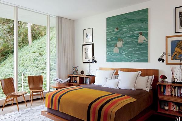 طراحی و دیزاین اتاق خواب به سبک روستیک